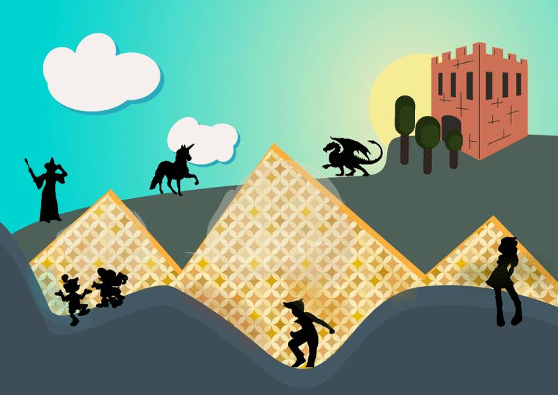 Ilustración para díptico en Adobe Illustrator
