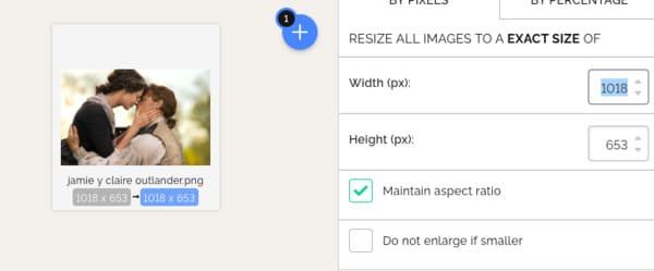 Comprimir una imagen para web