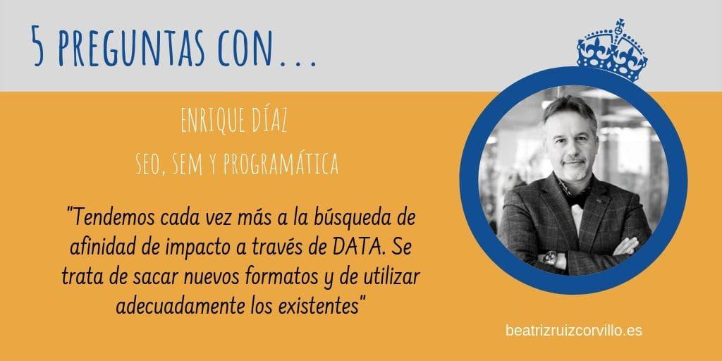 Enrique Díaz – Los formatos en Publicidad Digital