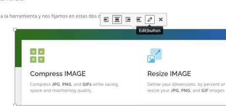 Posicionar imágenes en WordPress
